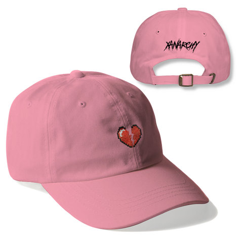DIGITAL HEART DAD HAT (PINK)