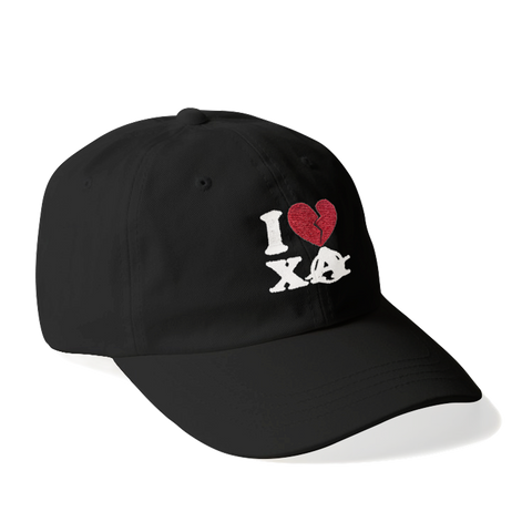 I LOVE XA DAD HAT (BLACK)
