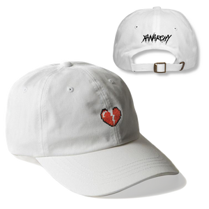 DIGITAL HEART DAD HAT (WHITE)