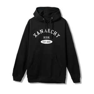 Xanarchy High Hoodie (BLACK)