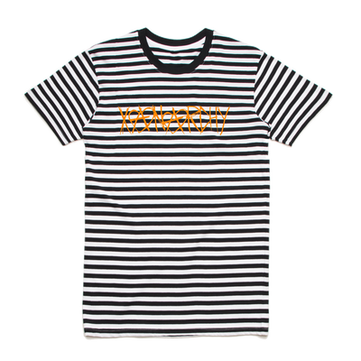 SCRIBBLE STRIPE TEE