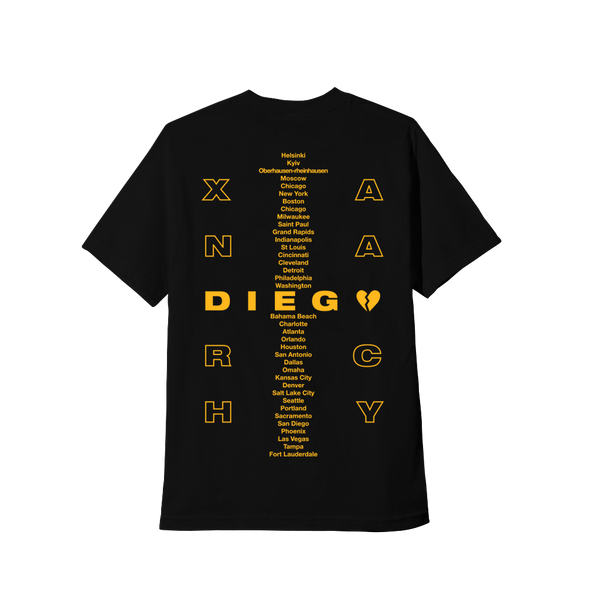 BLACK DIEGO TOUR TEE
