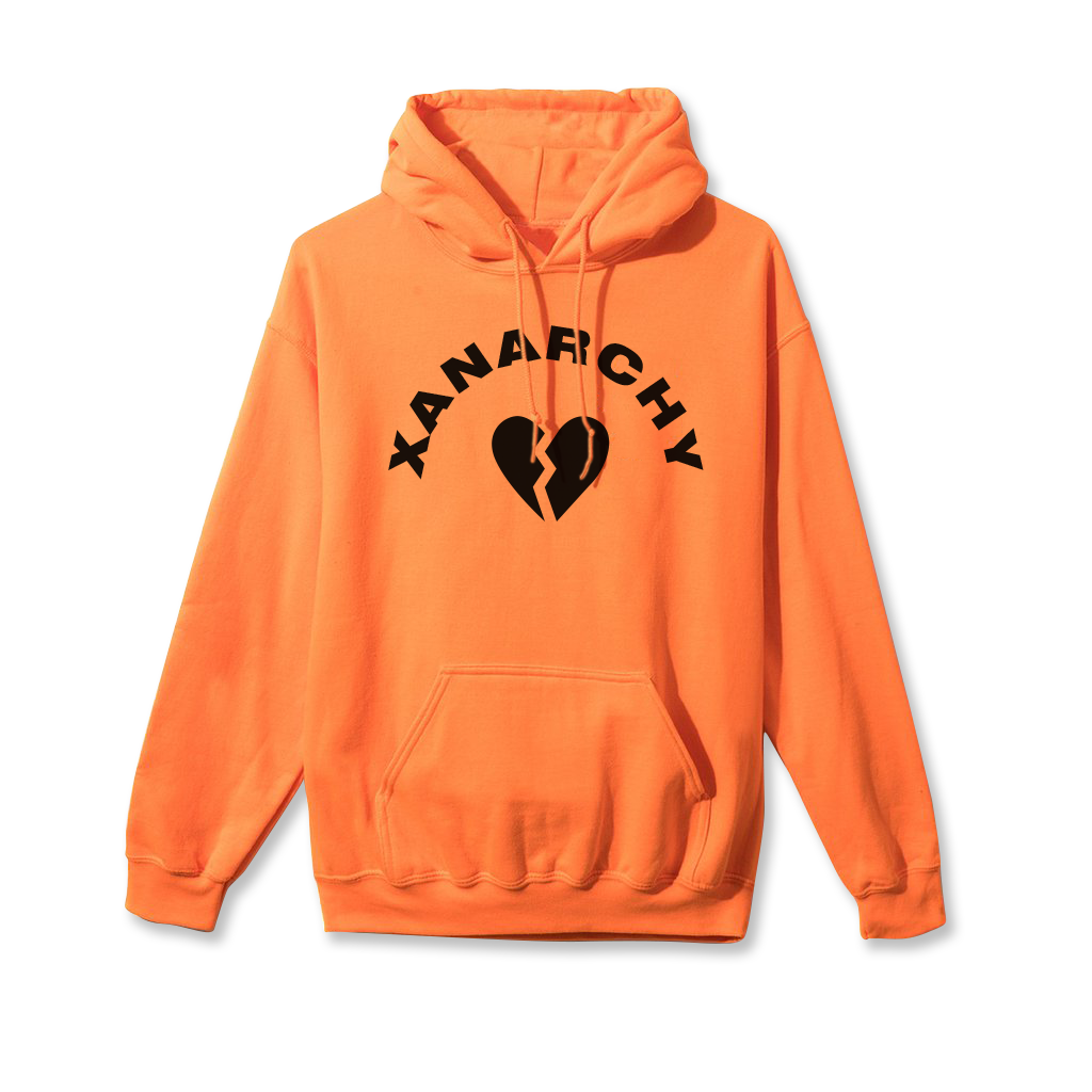 Orange Heartbreak Hoodie (Halloween Sale)