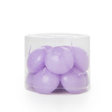 Lavender Scented Lilac Floating Candles