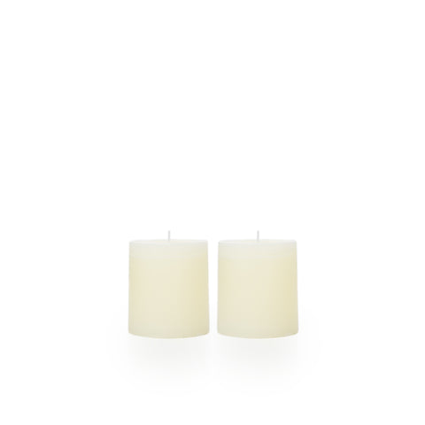 Petite Pillar Candle Diameter 7cm x Height 7cm (Cream)