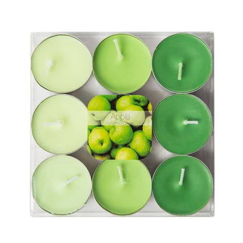 Fresh Apples Scented 4 Hours Tealight Candles