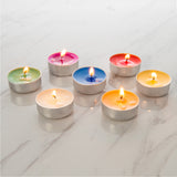 Multi-Color Tealight Candles