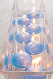 Sea Breeze Scented Pastel Blue Floating Candles