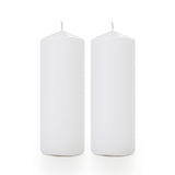 Pillar Candle Diameter 7cm x Height 20cm (White)