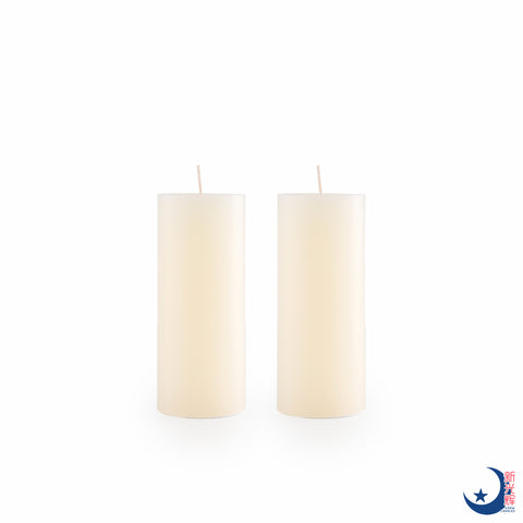 Pillar Candle Diameter 5.5cm x Height 13cm (Cream)