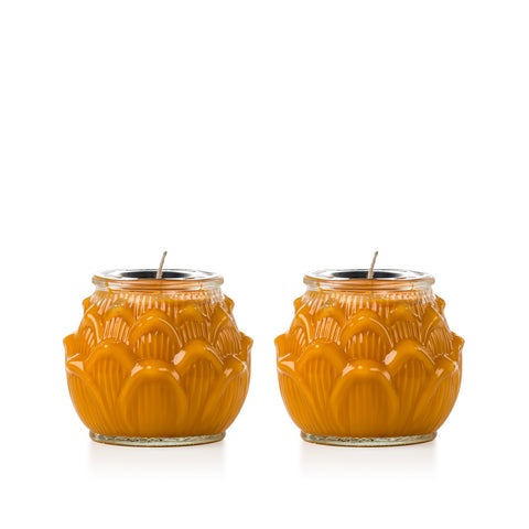 Yellow Glass Lotus (Medium)