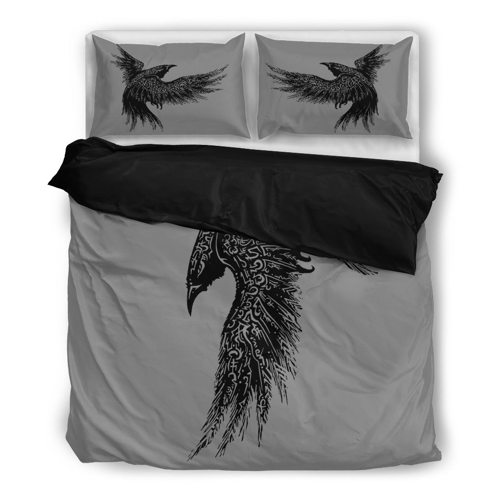 Raven Black Bedding Set - FREE SHIPPING WORLDWIDE