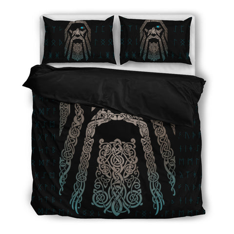 Viking Odin Bedding Set - FREE SHIPPING WORLDWIDE