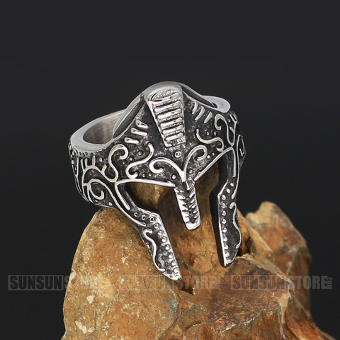 Viking Helmlet Noridc Stainless Steel Ring