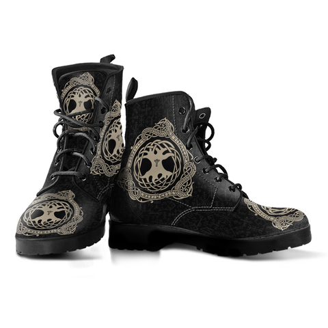Viking Yggdrasil Men's Leather Boots