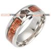 Image of Viking Runes Amulet Yggdrasil Ring