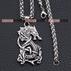 Image of Fenrir Wolf stainless steel necklace