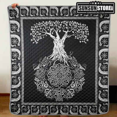 Tree of life Viking Quilt