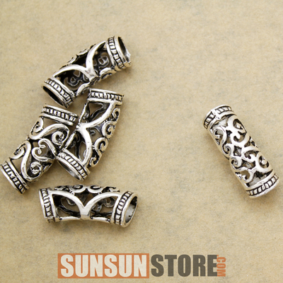 Norse Viking Swirl Beard Hair Set 4pcs