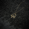 ASL I Love You Sign Language Necklace