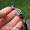 Image of Viking Protection Symbol Bracelet