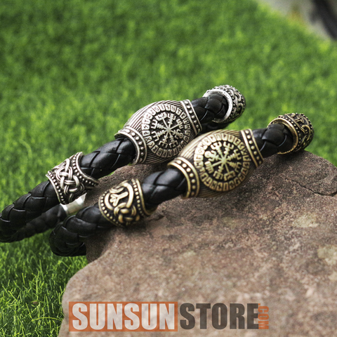 Viking Protection Symbol Bracelet
