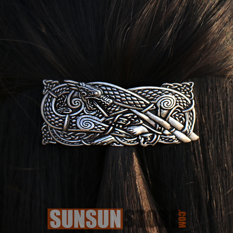 Vikings Dragon Hairpins 02