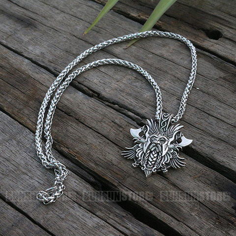Viking Odin Necklace Pendant