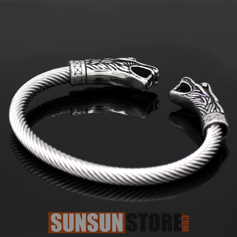 Viking Bracelet Dragon Head