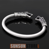 Image of Viking Bracelet Dragon Head
