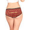 I Love ASL Women's All Over Print Briefs