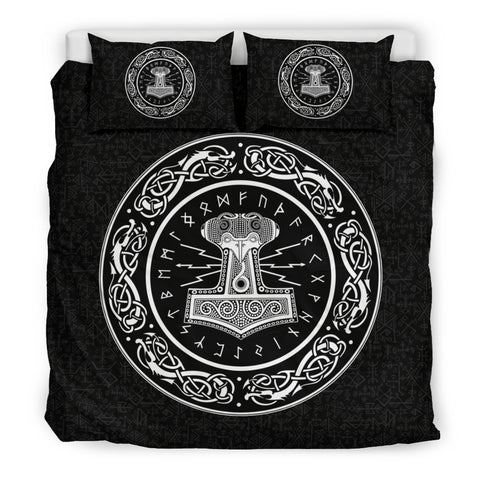Thor's hammer Mjolnir Bedding Set