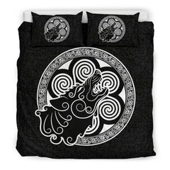 Celtic Wolf Bedding Set