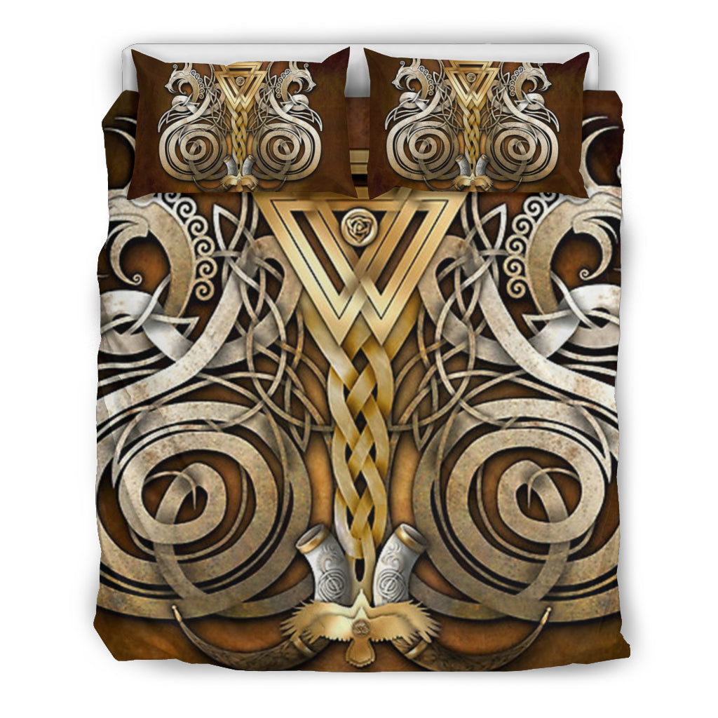 Fenrir Wolf Odin Bedding Set