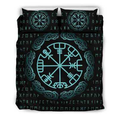 Viking Vegvisir Symbol Bedding Set