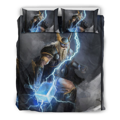 Viking God of Lightning Thor Bedding Set