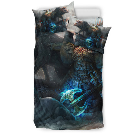 Viking Wolf Bedding Set