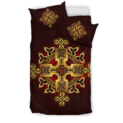 Golden Ancient Pagan Bedding Set