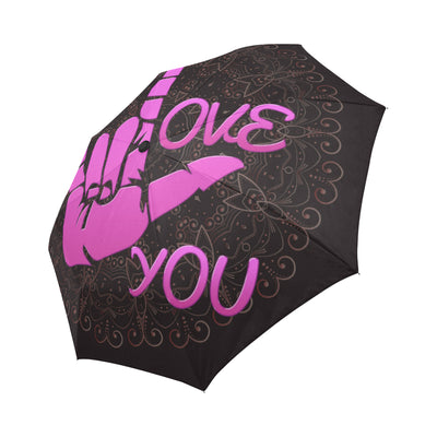 I Love You Auto-Foldable Umbrella