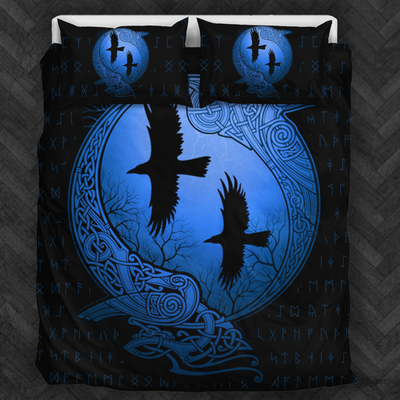 Viking Raven Bedding Set