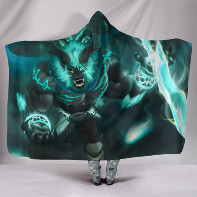 Guardian Deity Possession Hooded Blanket