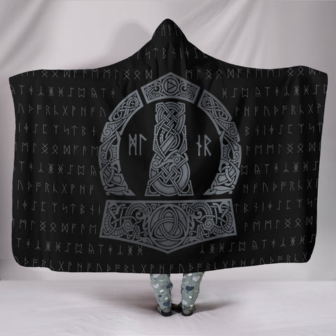 Mjolnir Hooded Blanket