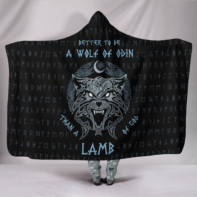 Wolf of Odin Hooded Blanket