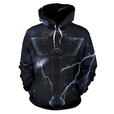 Thor's Hammer Hoodie All Over Print