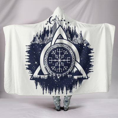 Helm of Awe Hooded Blanket