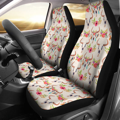 Baphomet Skull Car Seat Covers