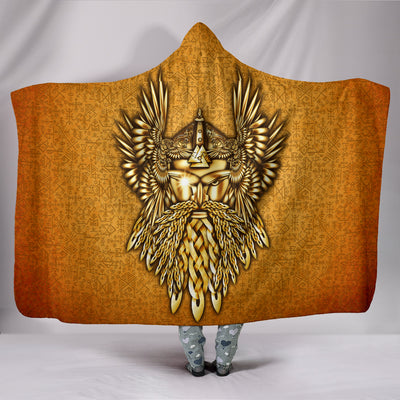 Odin the All Father Hooded Blanket