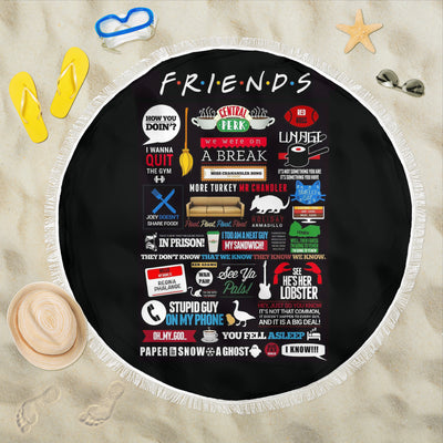 Friends Beach Blanket