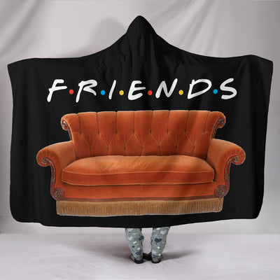 FRIENDS Hooded Blanket