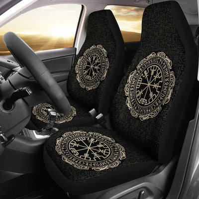 Viking Vegvisir Symbol Car Seat Covers
